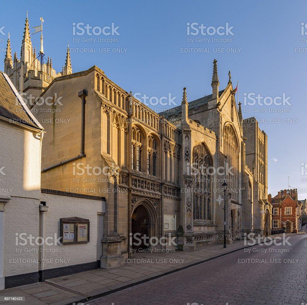 St Edmundsbury Cathedral in Bury St Edmunds stock photo
