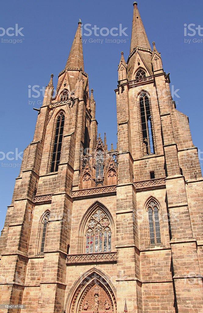 聖エリザベス教会(マールブルク ロイヤリティフリーストックフォト