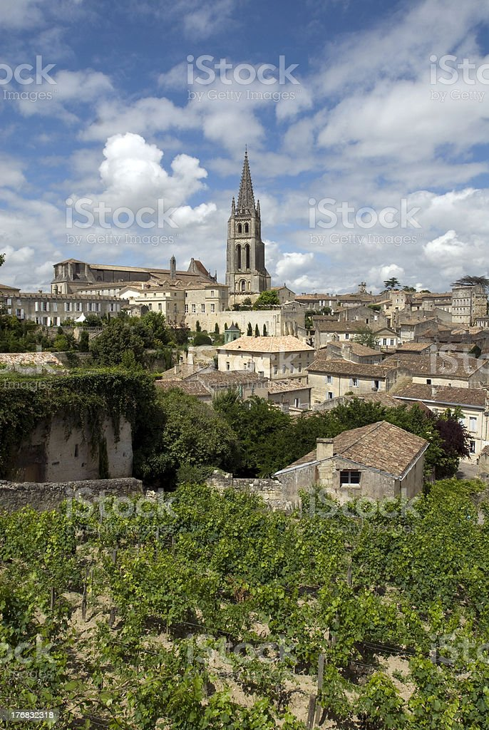 St. Emilion, France stock photo