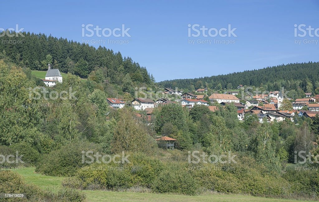 St. Englmar,Bavaria,Germany stock photo