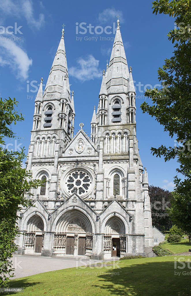 St. Fin Barre's Cathedral, Cork stock photo
