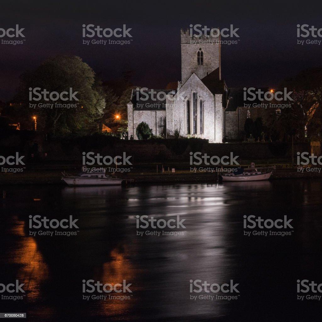 St Flannan's Cathedral Killaloe 3 stock photo