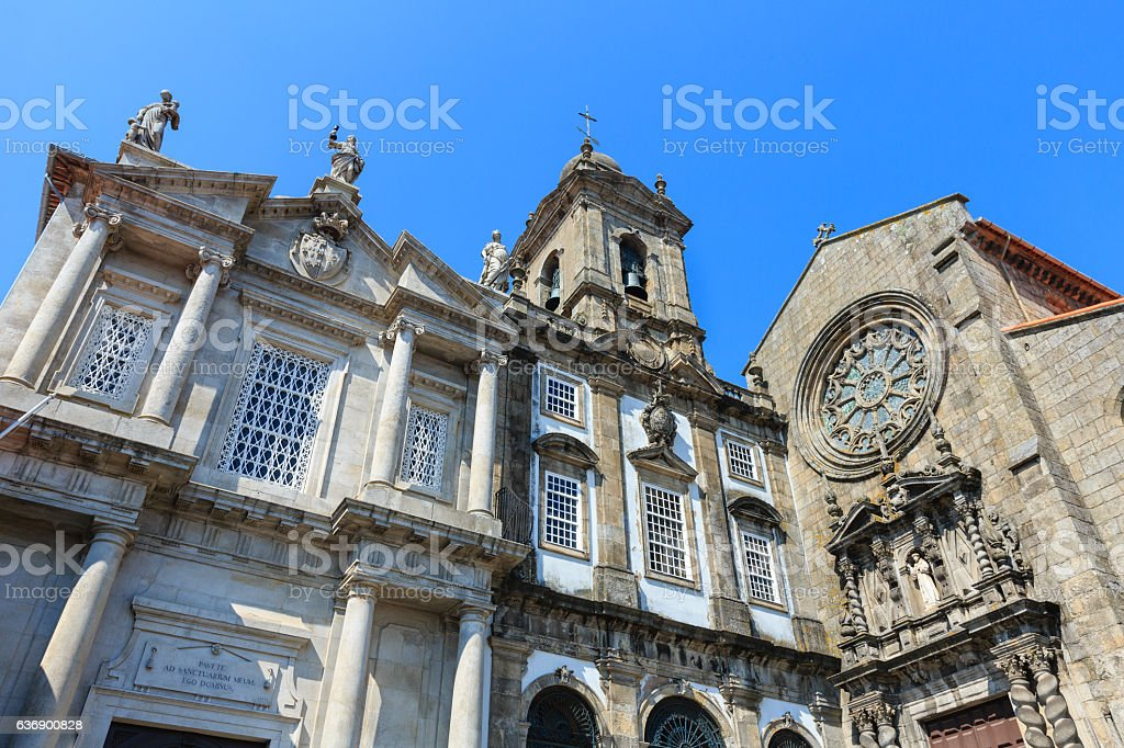 St. Francis Church, Porto. stock photo