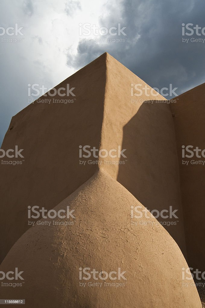 St Francis of Assisi Church stock photo