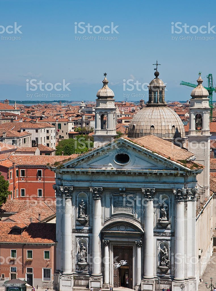 St George Church in Venice royalty-free stock photo