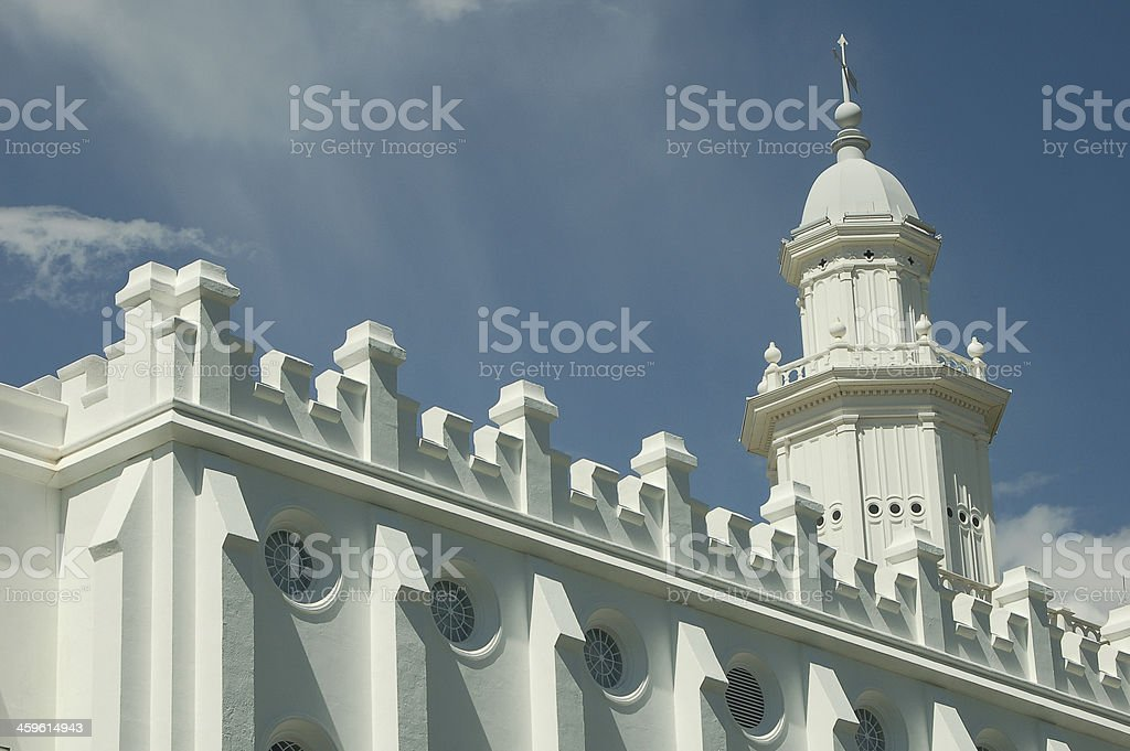 St. George Latter Day Saints Temple stock photo