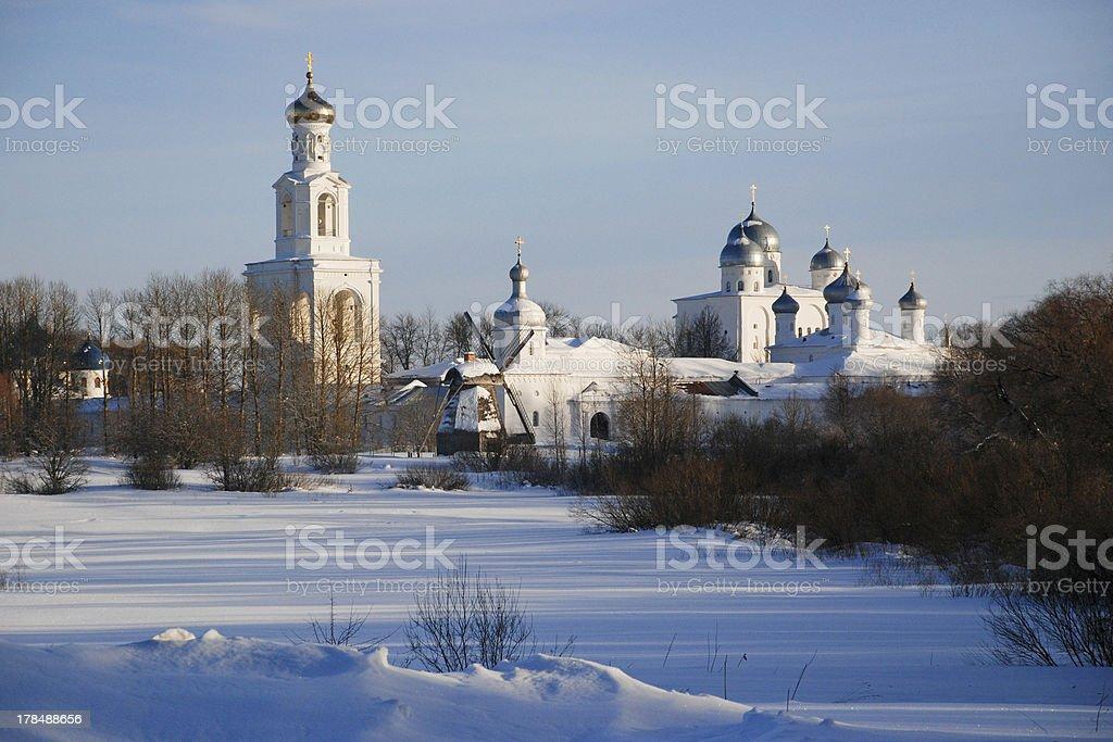 St. George monastery royalty-free stock photo