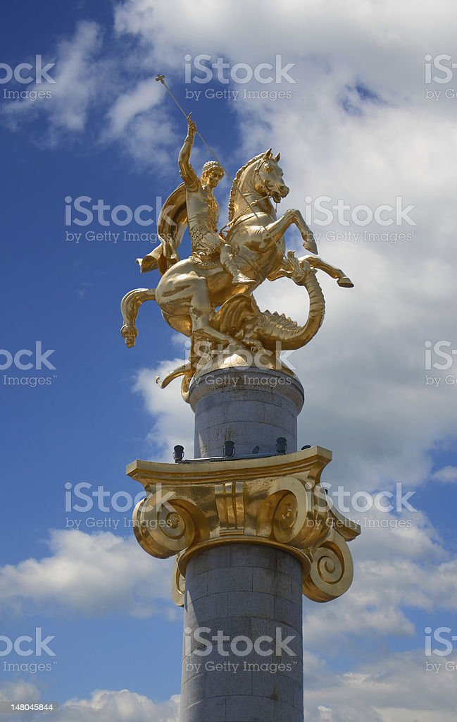 St. George royalty-free stock photo