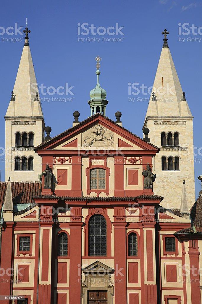 St. George's Basilica royalty-free stock photo