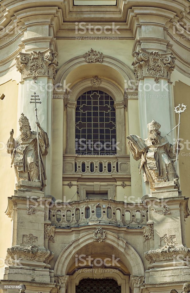 St. George's Cathedral, Lviv stock photo
