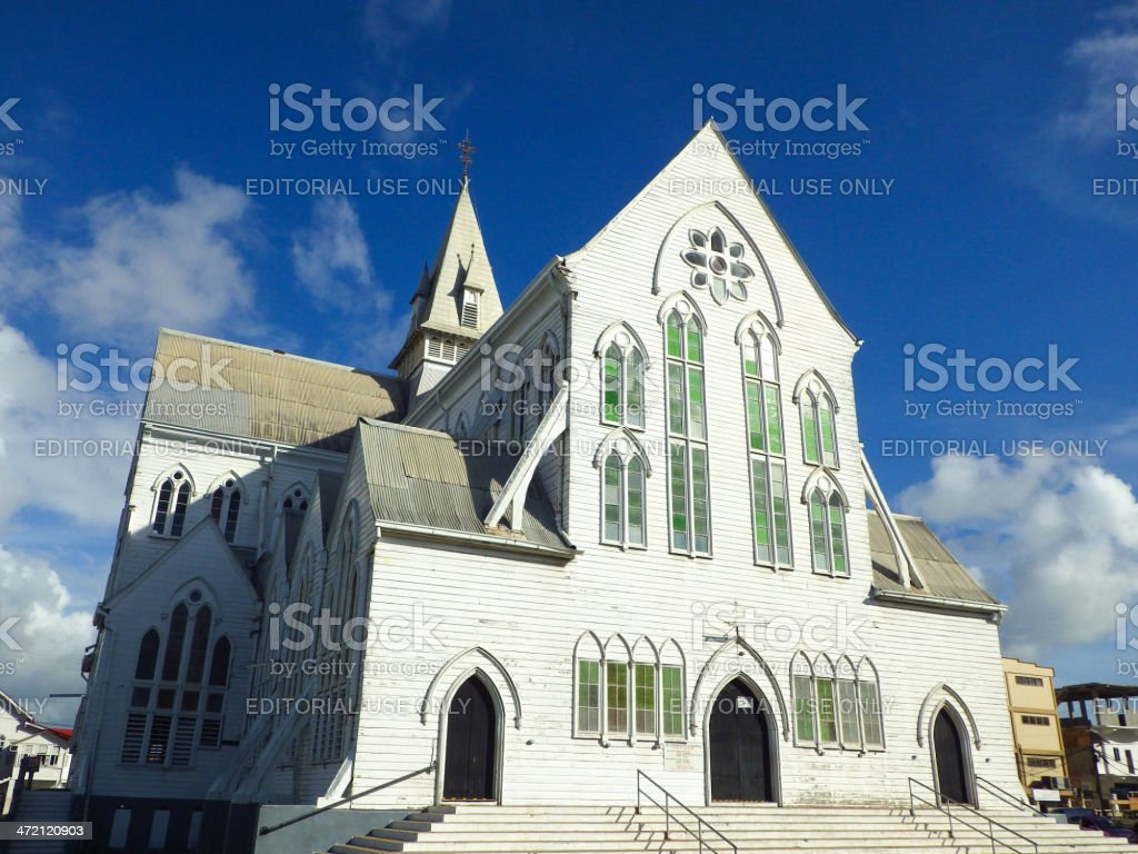 St George's Cathedral stock photo