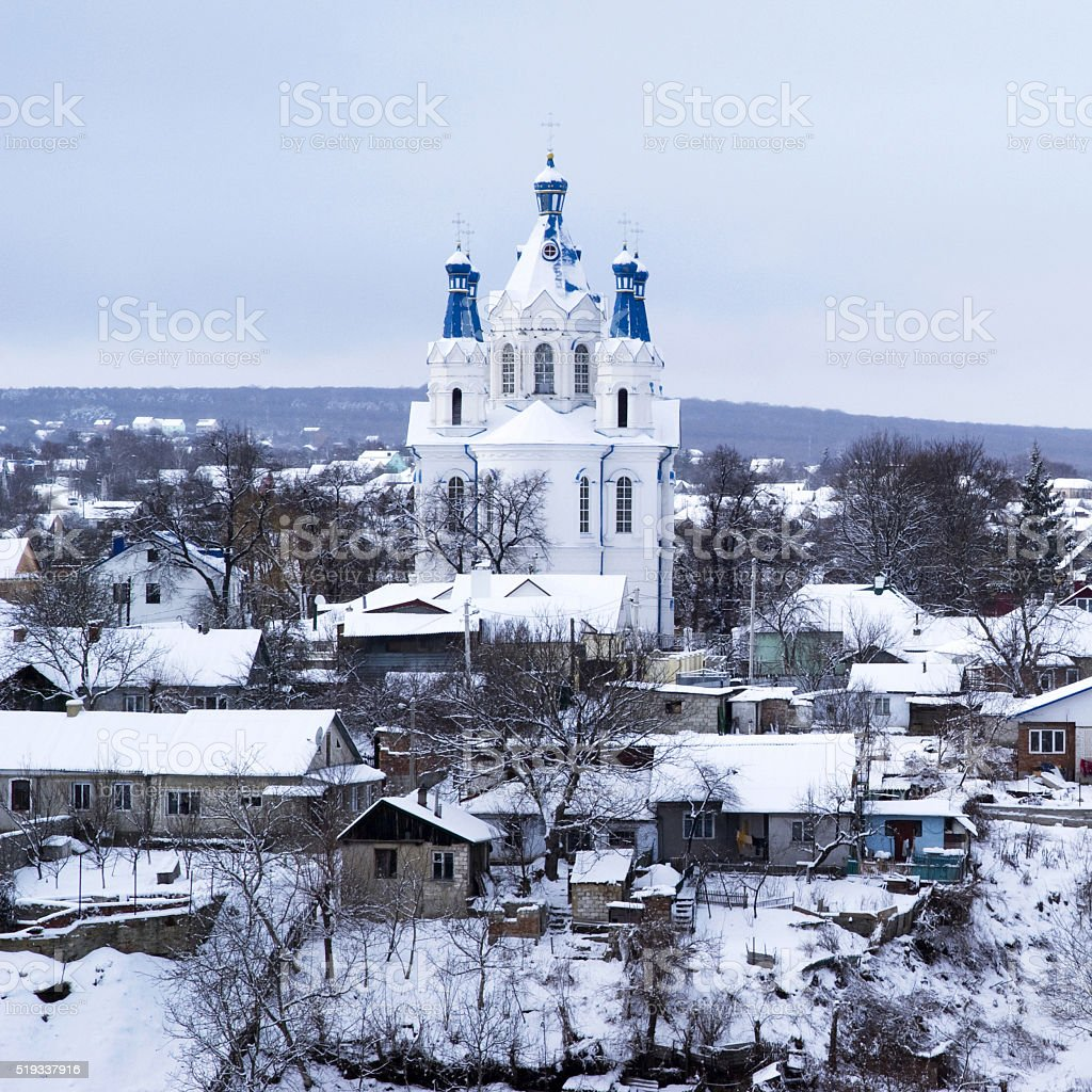 St George's church, Kamyanets-Podilskyi, Ukraine stock photo