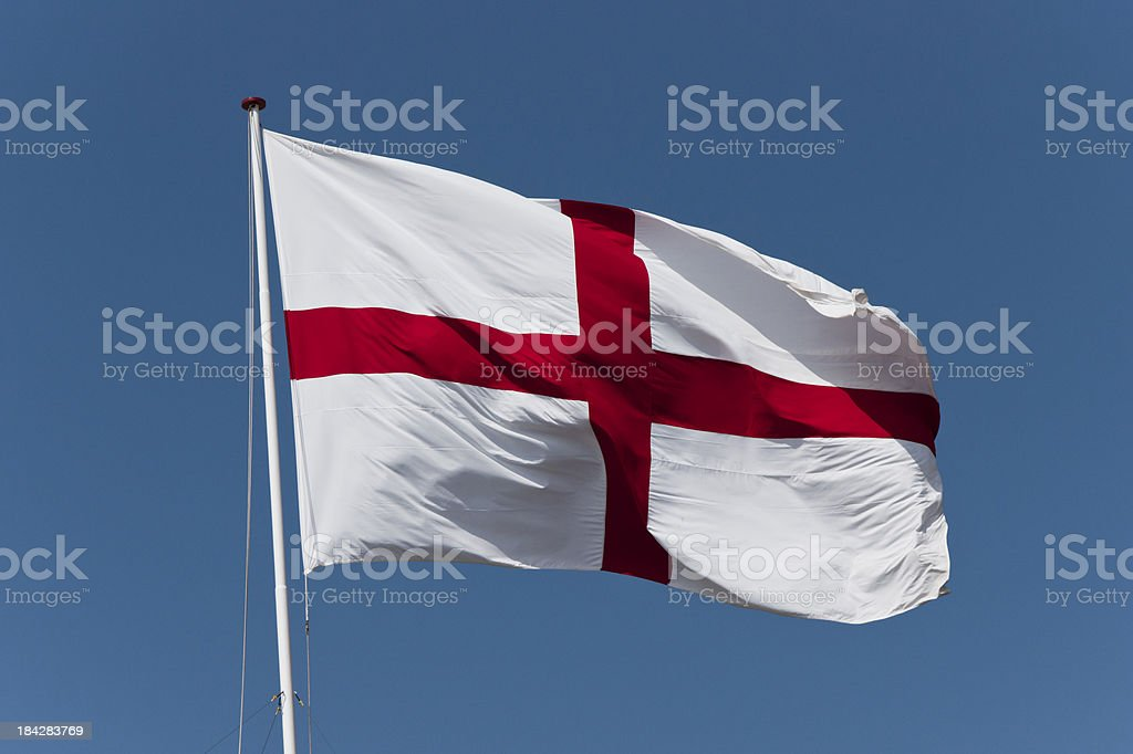 St George's Cross royalty-free stock photo