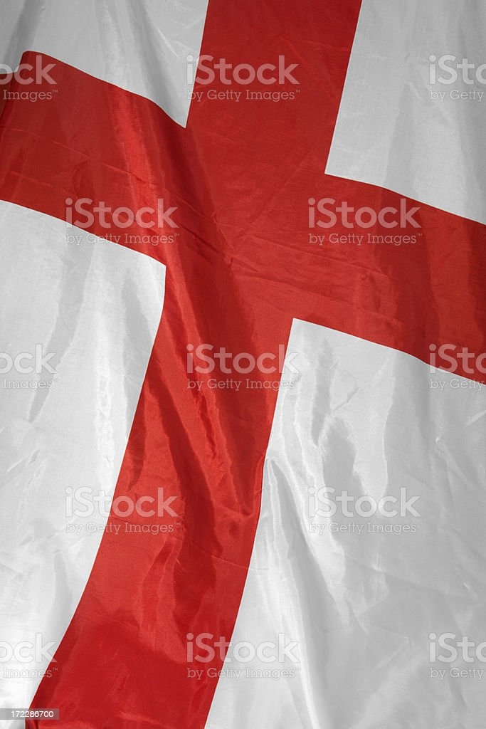 st georges flag royalty-free stock photo