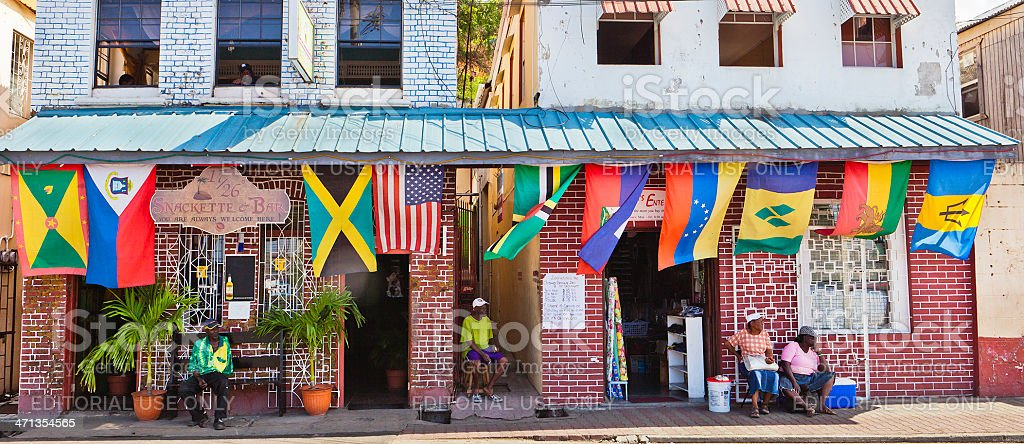 St. George's, Grenada W.I. stock photo