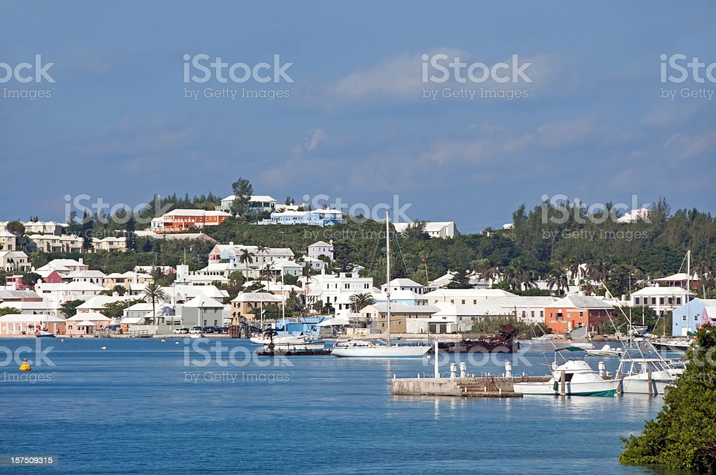 St. Georges Harbor, Bermuda 2 stock photo