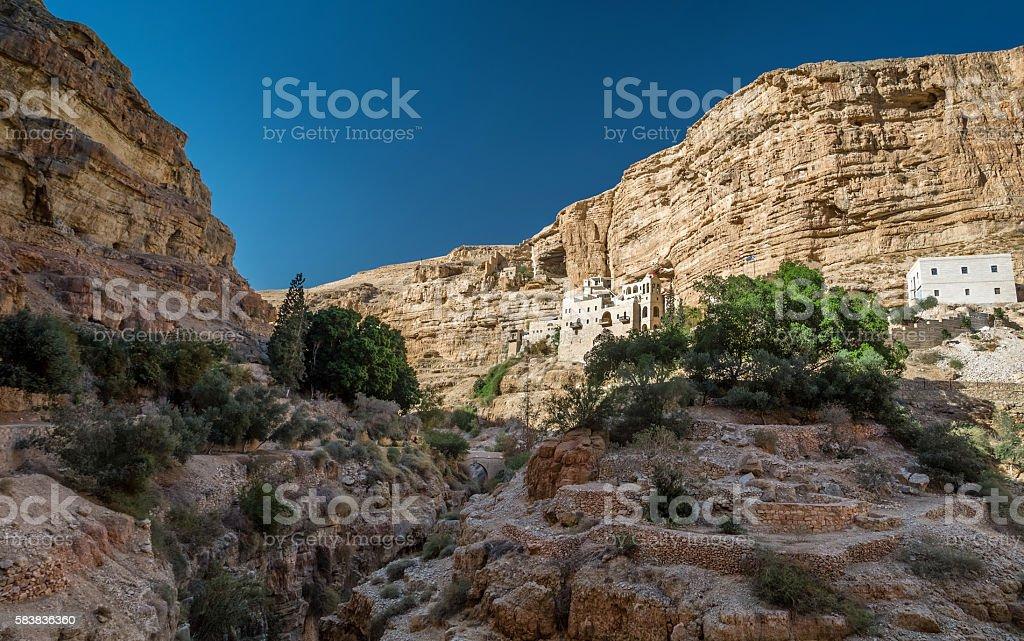 St. George's Monastery, Wadi Qelt stock photo