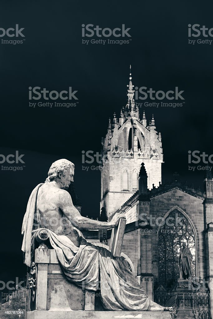 St Giles' Cathedral stock photo