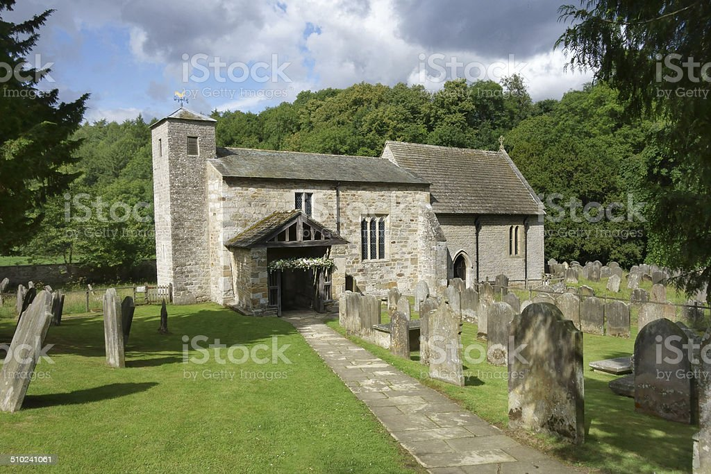 St Gregory's Minster, North Yorkshire stock photo