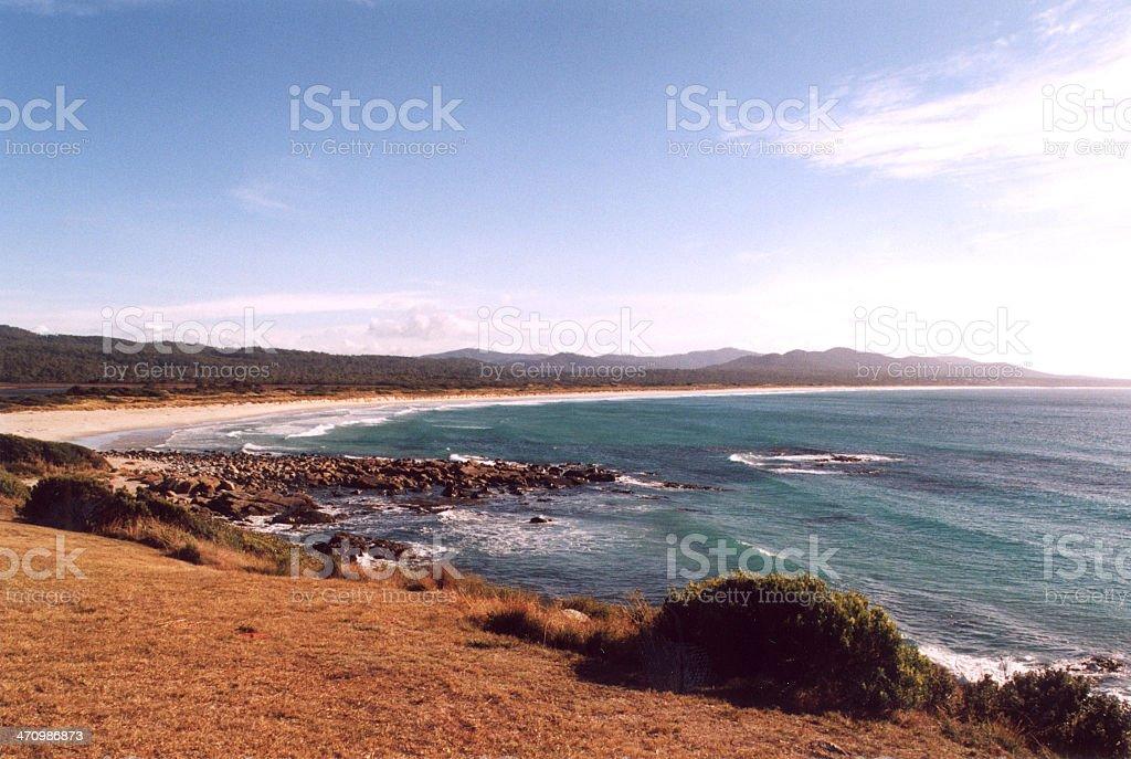 st helens de tasmania foto de stock libre de derechos