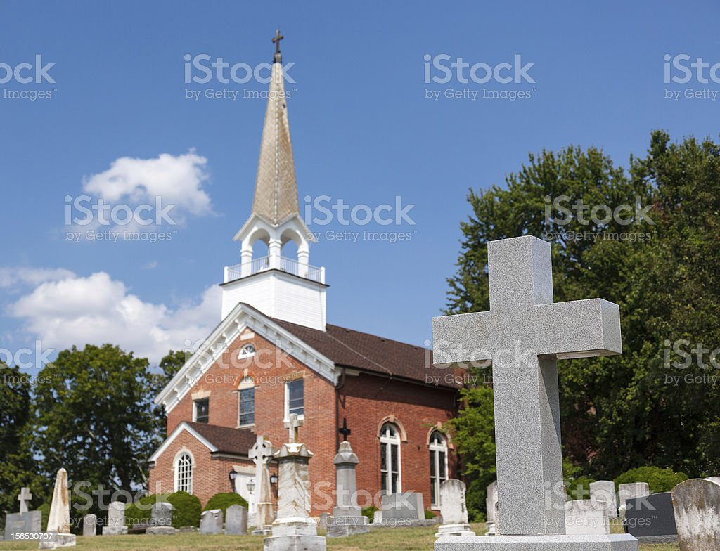 St Ignatius church Chapel Point Maryland royalty-free stock photo