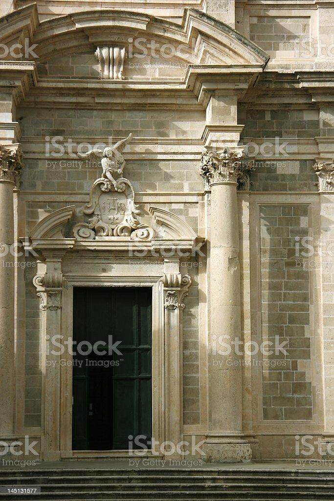 St. Ignatius Door stock photo