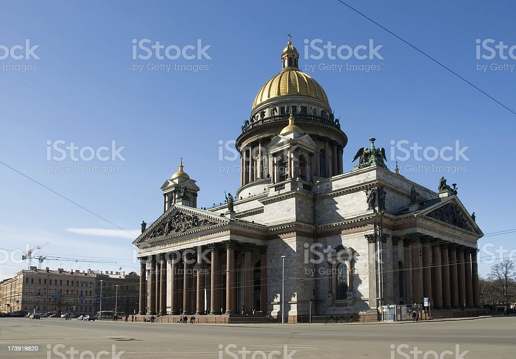 St. Isaacs Cathedral / Исаакиевский собор stock photo