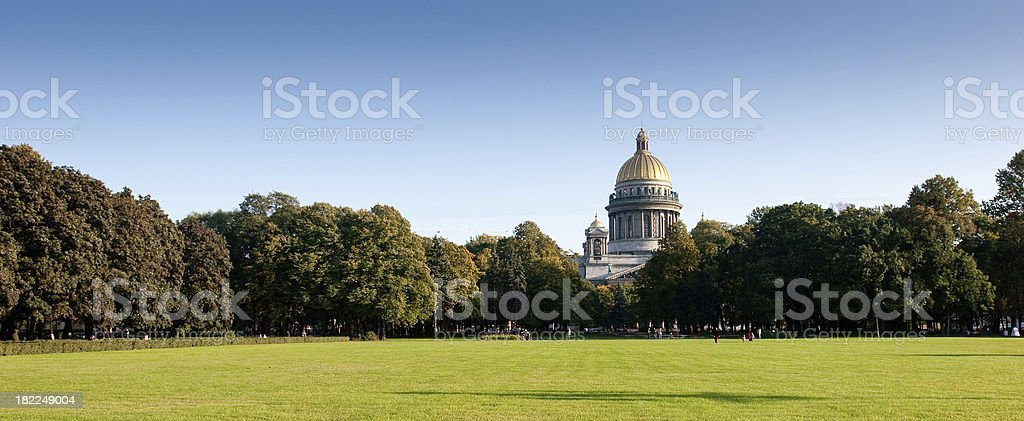 St. Isaacs Cathedral stock photo