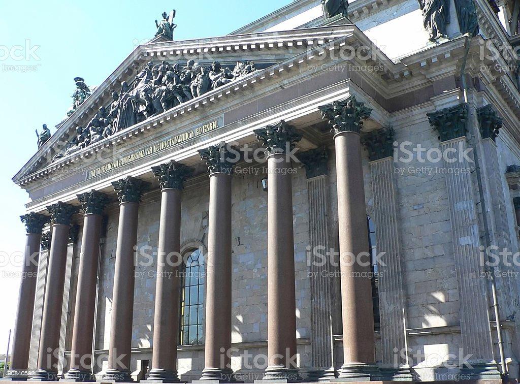 St. Isaacs Cathedral royalty-free stock photo
