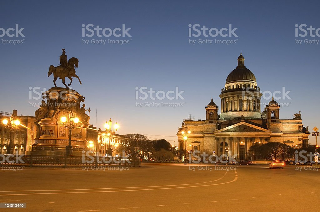 St Isaac's Cathedral Saint Petersburg Russia royalty-free stock photo