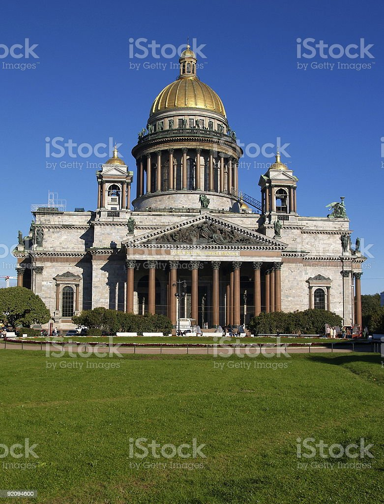 St Isaac's Cathedral, Saint Petersburg, Russia royalty-free stock photo