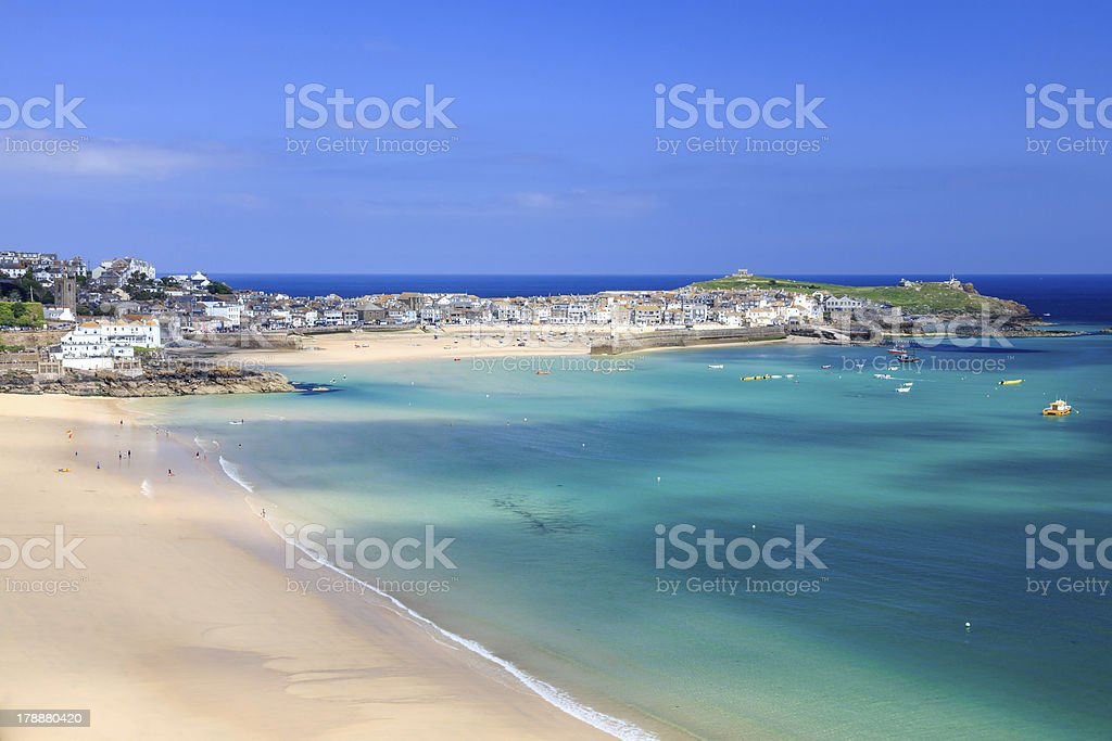 St Ives Cornwall Angleterre Royaume-Uni photo libre de droits