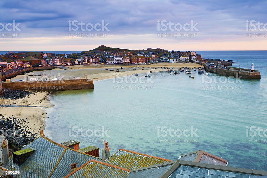 St. Ives Cornwall stock photo