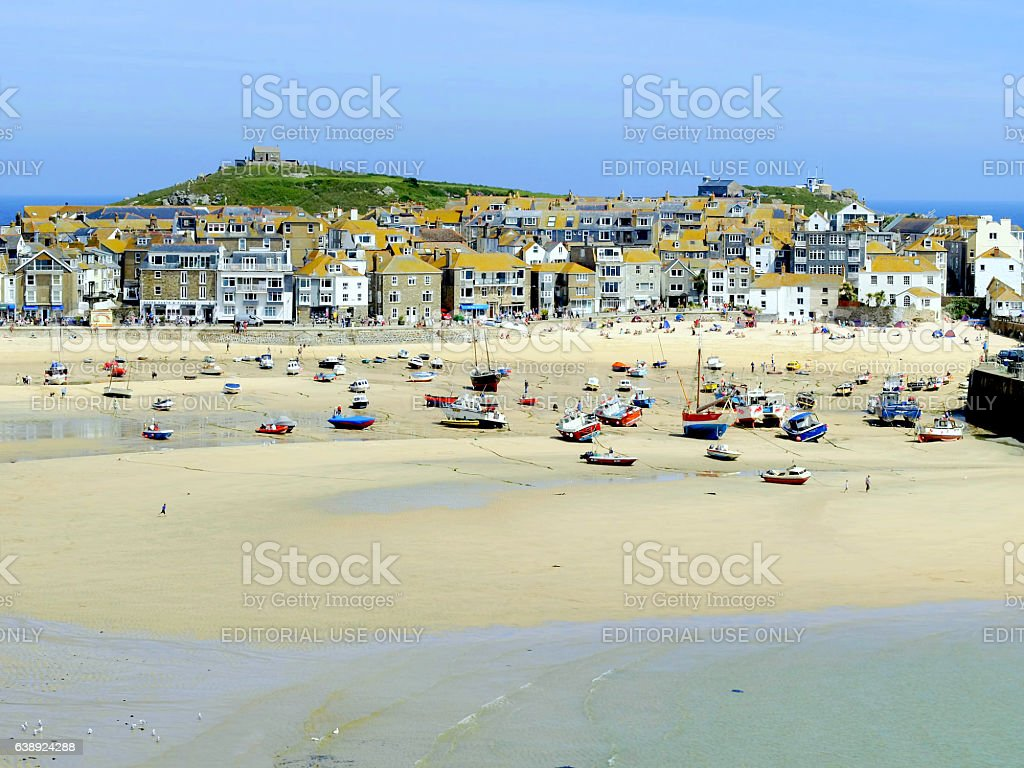 St. Ives, Cornwall. stock photo
