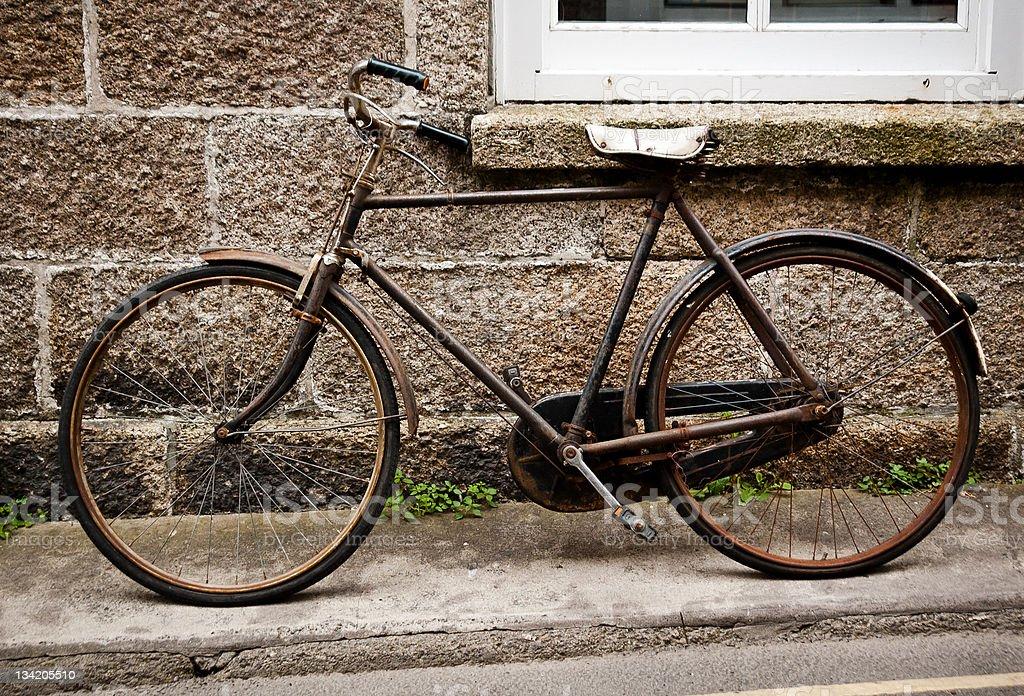 St Ives Vintage Bike royalty-free stock photo