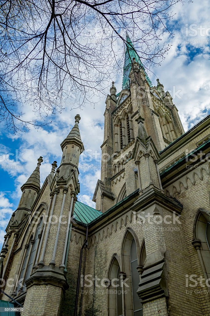 St. James Cathedral stock photo