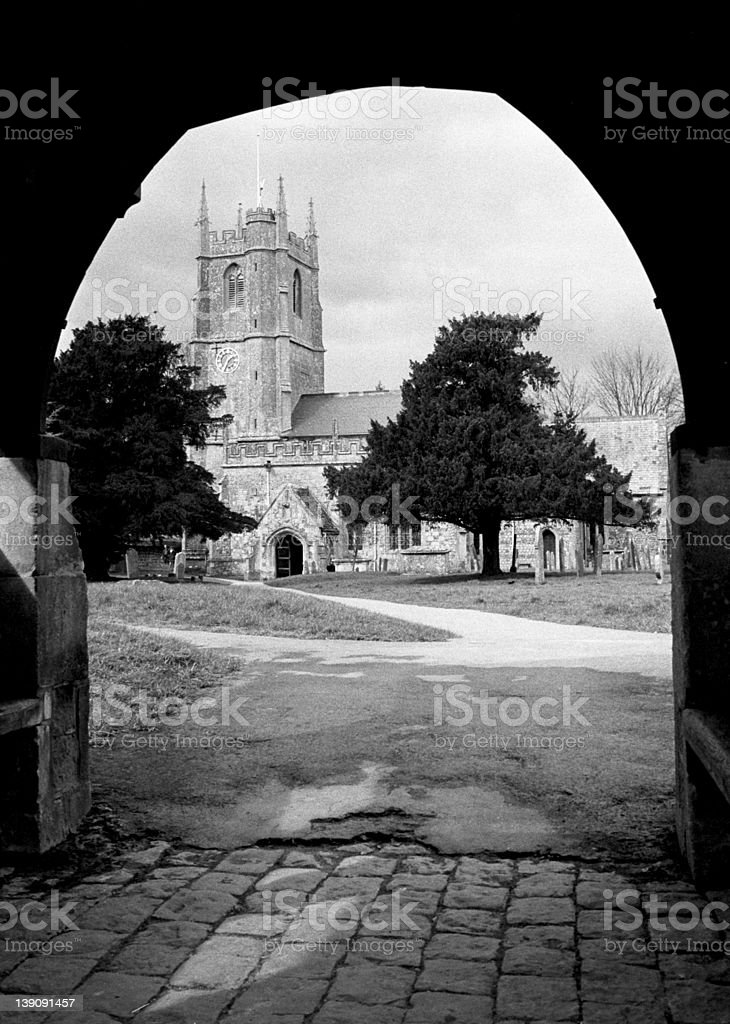 St. James Church royalty-free stock photo