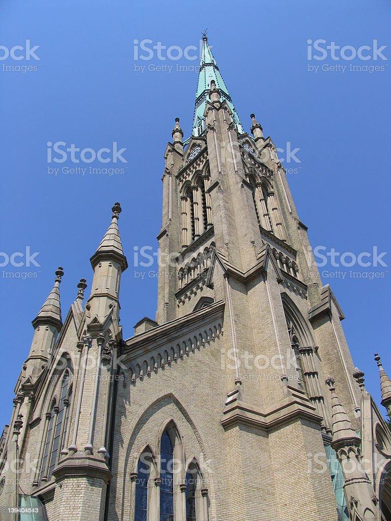 St. James church royalty-free stock photo