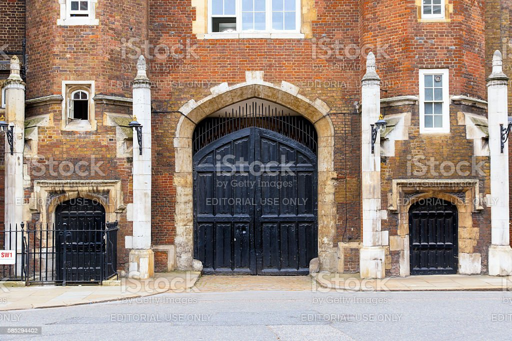 St James Palace in London stock photo