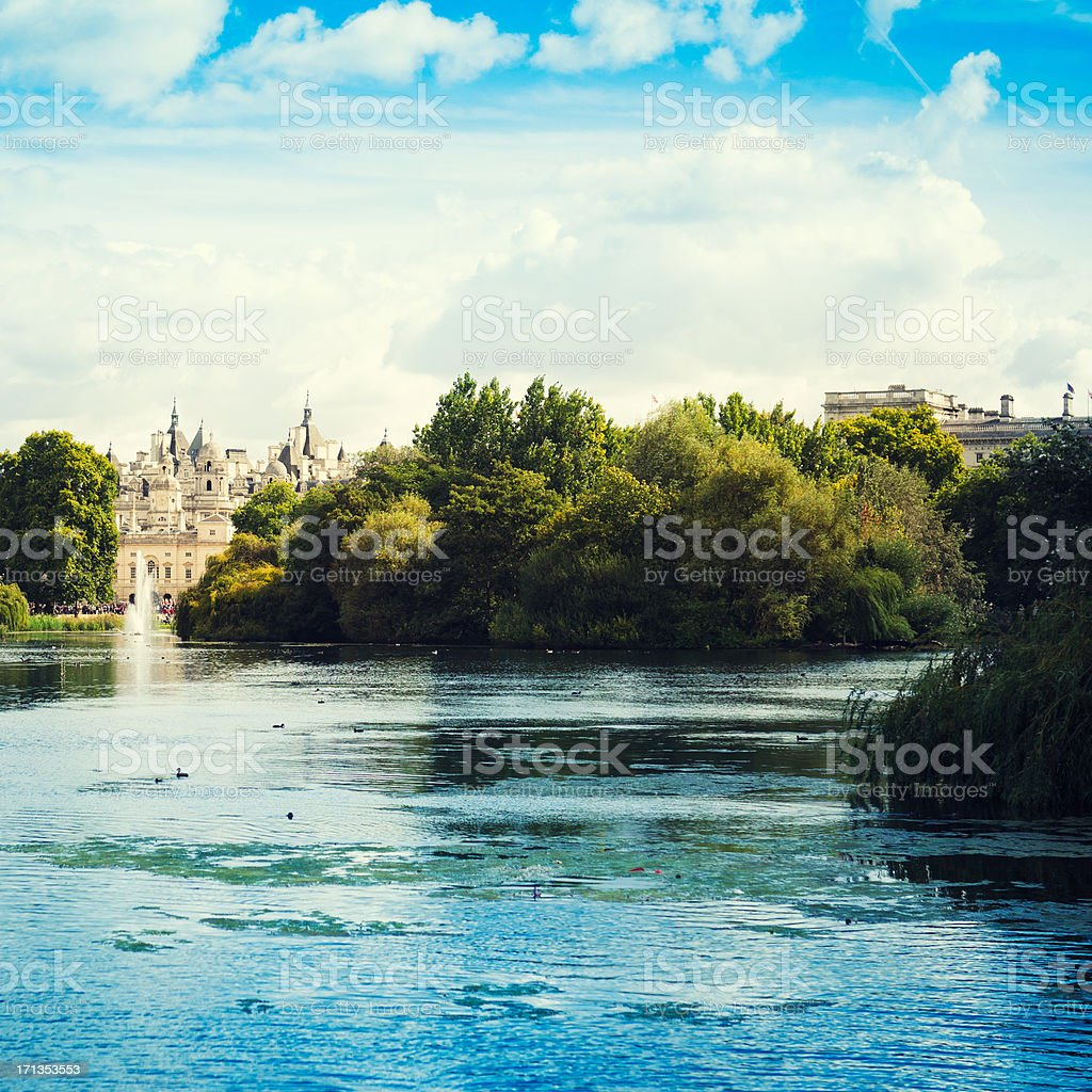 St james park in London royalty-free stock photo