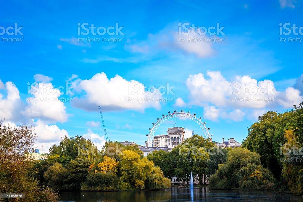 St James Park In London stock photo