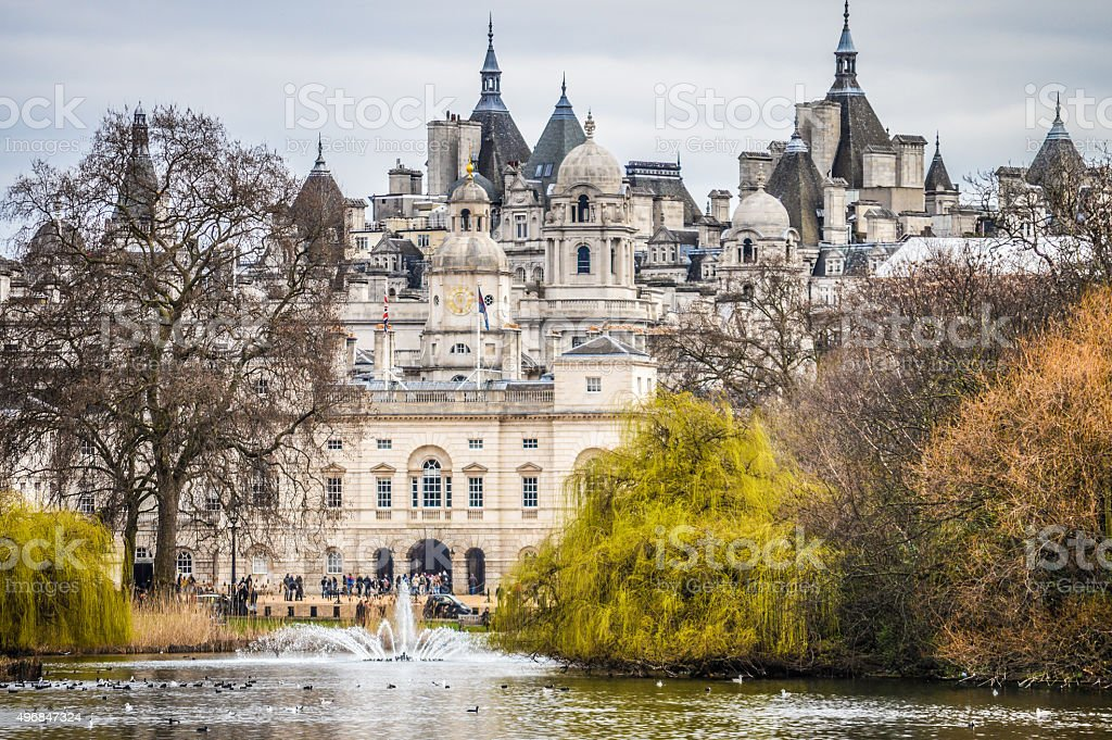 St. James Park - London, UK stock photo