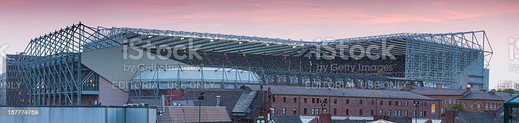 St. James' Park - Newcastle United vs Man U. stock photo