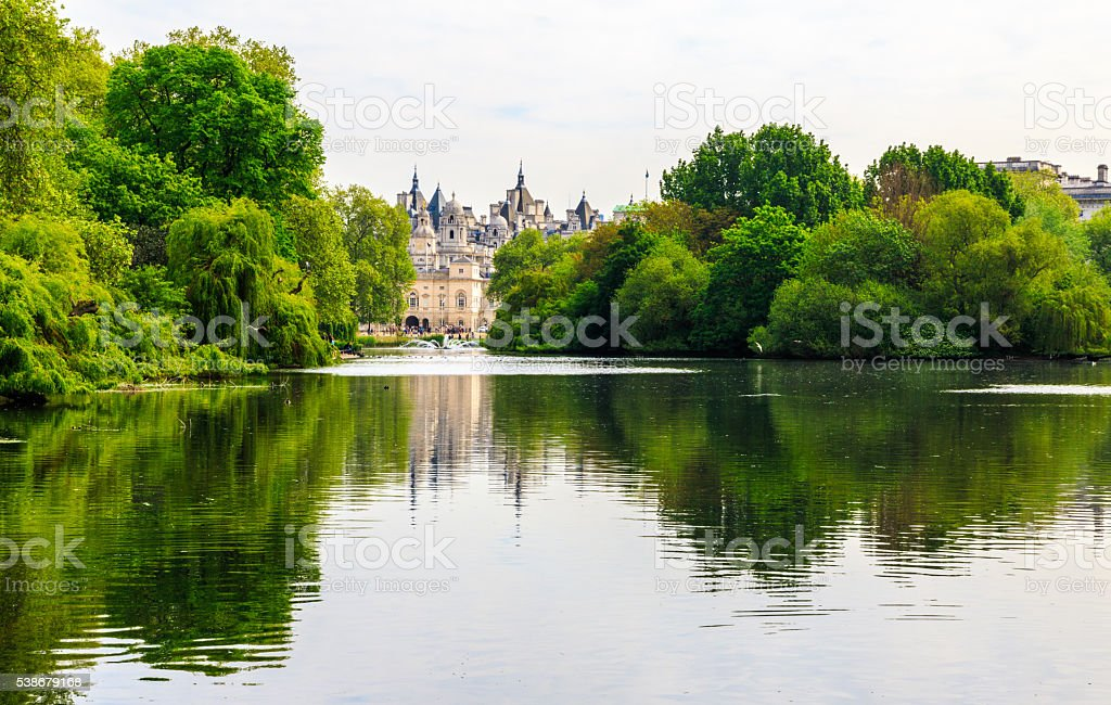 St. James Park stock photo