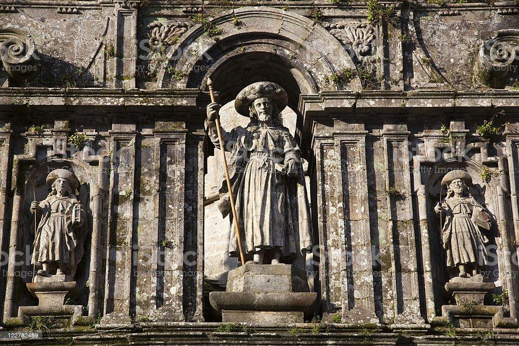 St James Statue stock photo