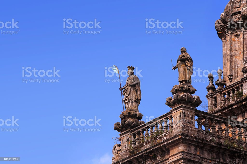 St. james - Top of the Cathedral  royalty-free stock photo