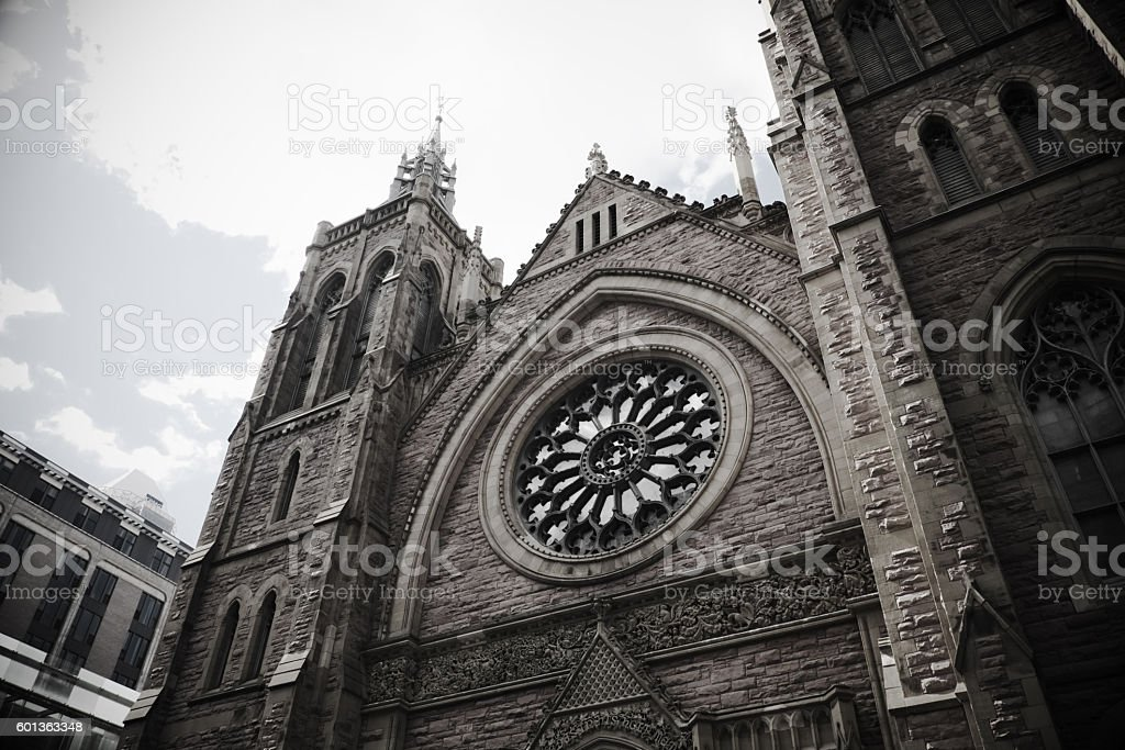 St. James United Church stock photo