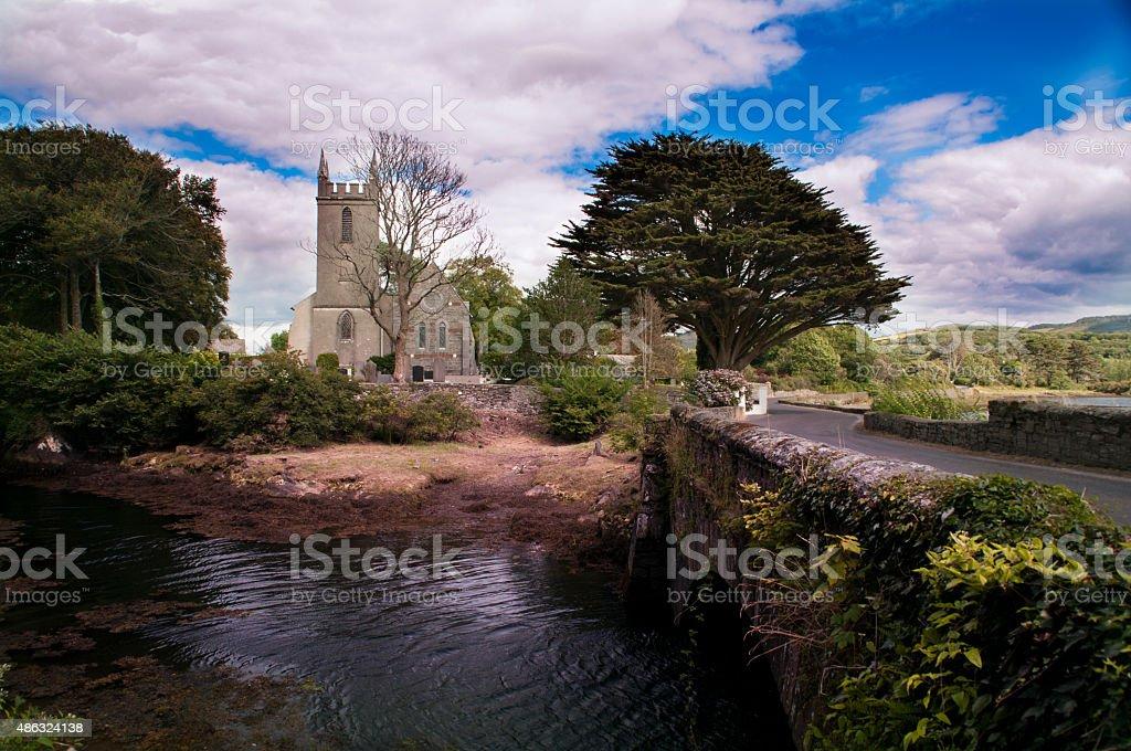 St. James's Church of Ireland, Durrus stock photo