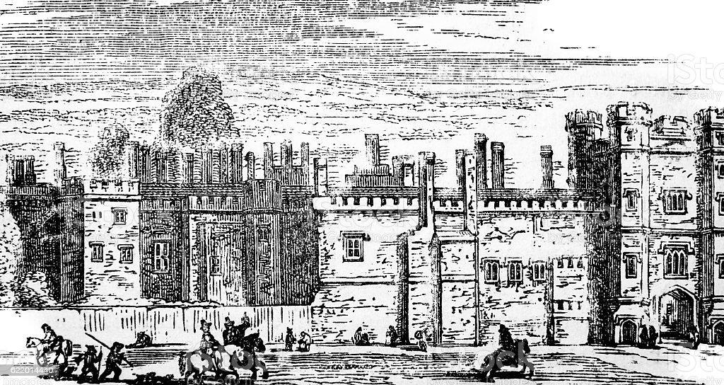 St James's Palace stock photo