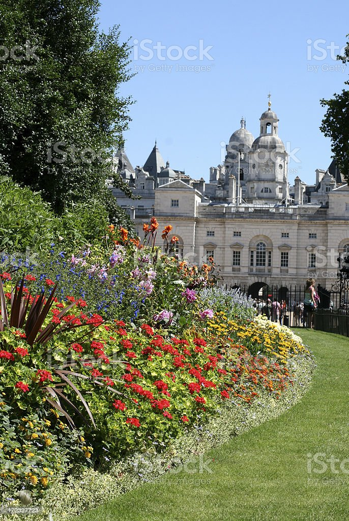St James's Park in London royalty-free stock photo